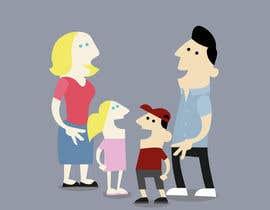 ChivLancer tarafından Design a cartoon family için no 16