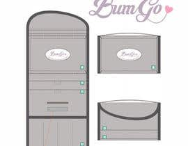Titoo1 tarafından Design a Logo for Shnuggle BumGo - The Handy Changing Wrap için no 84