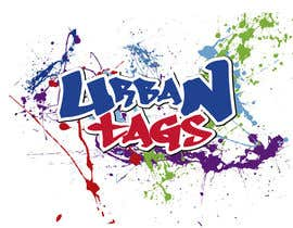 "#25 untuk Design a unique logo for a new e-liquid brand - ""Urban Tags"" oleh ricardosanz38"