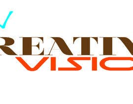 #67 untuk Design a Logo for company called creative vision for marketing oleh nhussain7024