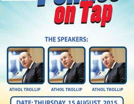 "#10 untuk Design an Advertisement poster for ""Politics on Tap"" oleh sscreatives"