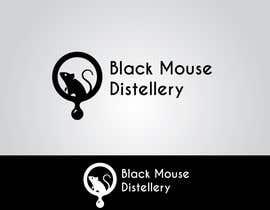 #3 untuk Design a Logo for Black Mouse Distillery oleh joydeepmandal7