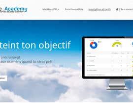 #34 untuk Concevez un logo pour un site d'examens en ligne de pilotes d'avion oleh boutalbisofiane