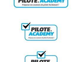#38 untuk Concevez un logo pour un site d'examens en ligne de pilotes d'avion oleh Pixali