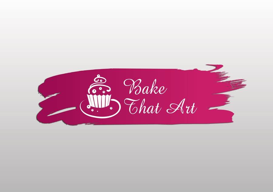 Penyertaan Peraduan #5 untuk New logo for Bake That Art facebook homepage