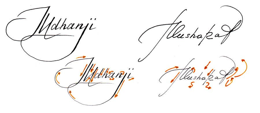 how to design a signature