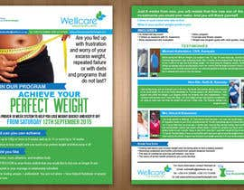 teAmGrafic tarafından Design a 2-sided Flyer(Front & Back) for Weight Loss Program için no 7