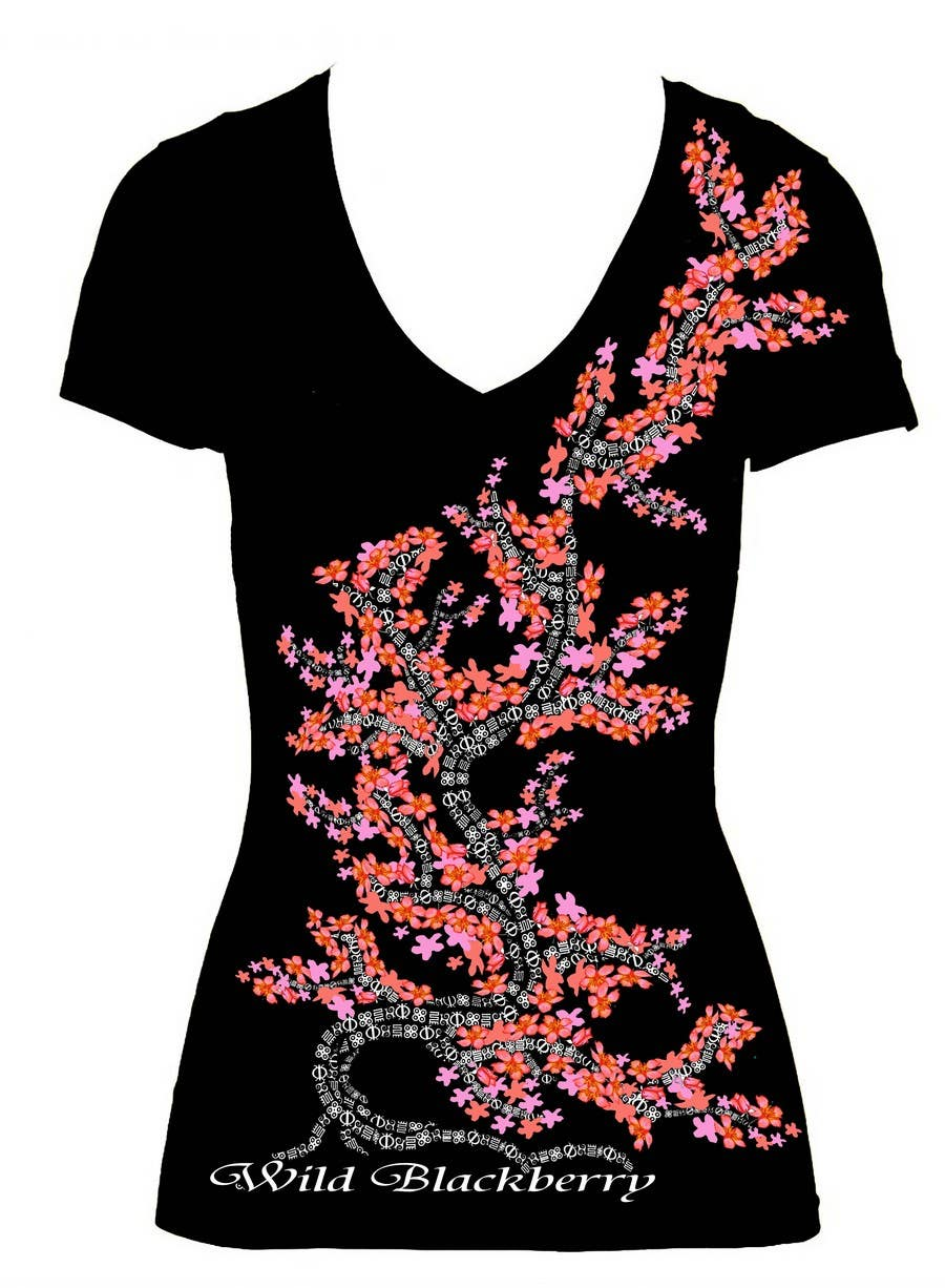Penyertaan Peraduan #11 untuk Artistic Shirt Design