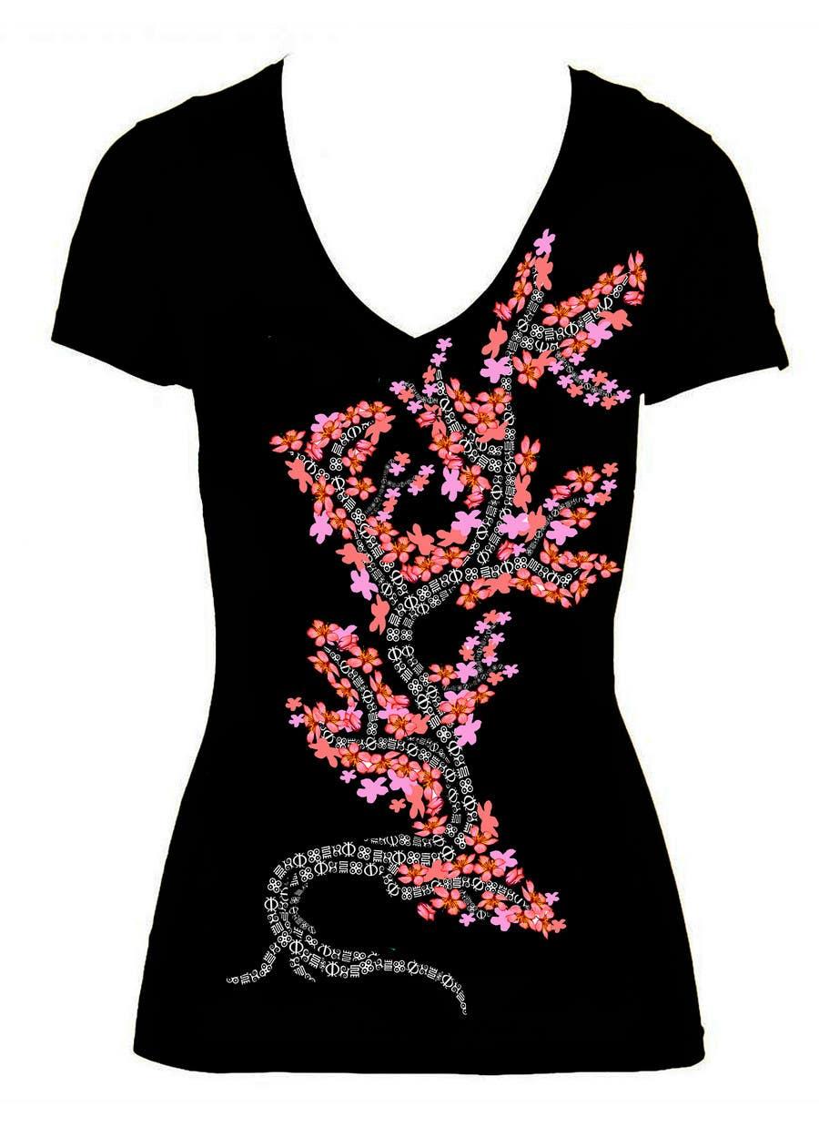 Kilpailutyö #                                        2                                      kilpailussa                                         Artistic Shirt Design