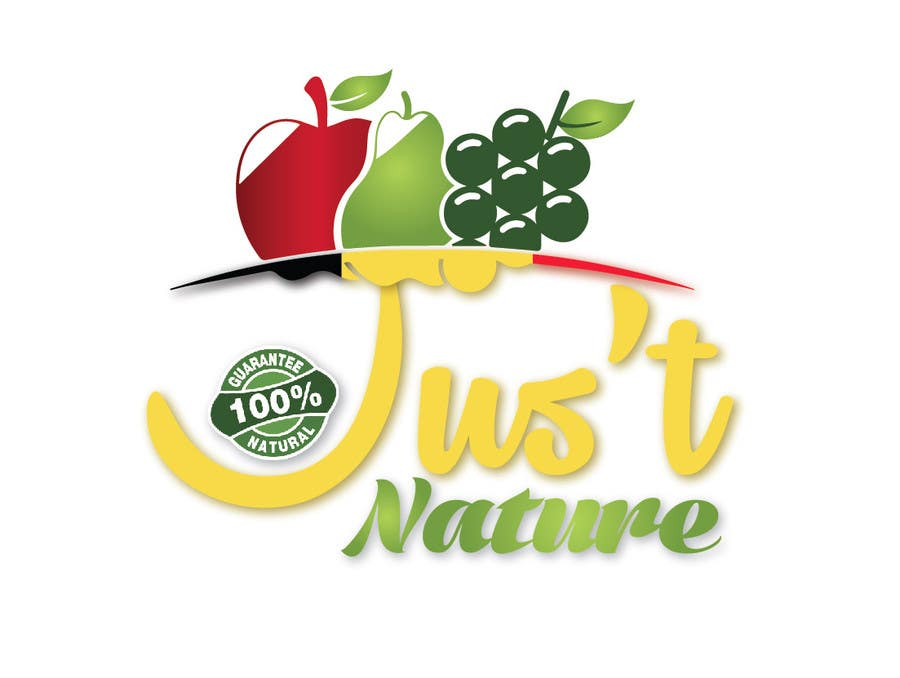 "Design a logo for our fruit juice brand: ""Nature Jus't ..."