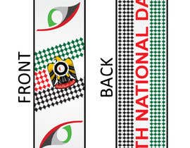 #18 untuk Design UAE National Day Scarf oleh zeddcomputers