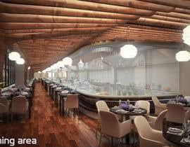 #47 untuk Restaurant Concept Design Competition oleh hantig