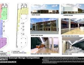 #45 untuk Restaurant Concept Design Competition oleh Abraham3darch