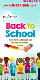 #2 untuk Design a Banner for Back2School Funday oleh bouchtiba23