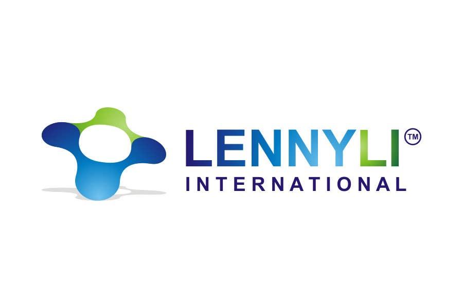 Proposition n°                                        90                                      du concours                                         Logo Design for Lenny Li International www.lennyli.com