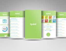 Nayemhasan09 tarafından Design an App Mockup for A Goal App için no 5