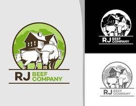 #37 untuk Design a Logo for  RJ Beef Company oleh okasatria91