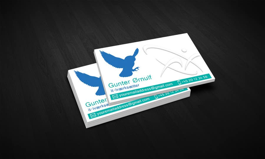#25 for Personal business card for it-entrepreneur by hugmin42