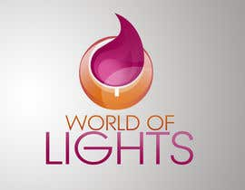 nº 43 pour Need new logo for my company; World of Lights par jovanramonida