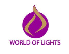 nº 30 pour Need new logo for my company; World of Lights par justinzammit