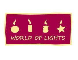nº 15 pour Need new logo for my company; World of Lights par Julia73