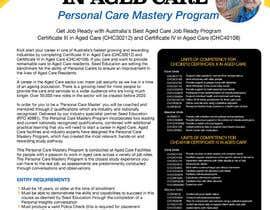 sunsum tarafından Design a Flyer for Aged Care Course için no 15