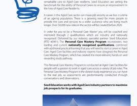 amcgabeykoon tarafından Design a Flyer for Aged Care Course için no 43