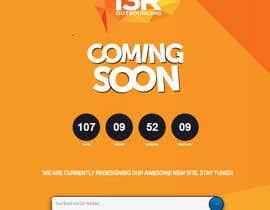 """Mohitbajaj252 tarafından Funky """"Relaunching Soon"""" Landing page için no 9"""