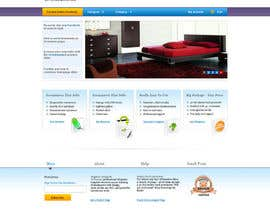 #7 cho Design a Home Page Mockup for Website bởi helixnebula2010