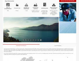 #20 for Corporate Microsite Redesign by CharlesNgu