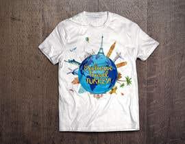 #51 untuk Travel concepted tshirt desings oleh aandrienov