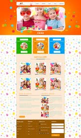 logodesire tarafından Design a Website Mockup for Children Party & Entertainment için no 5