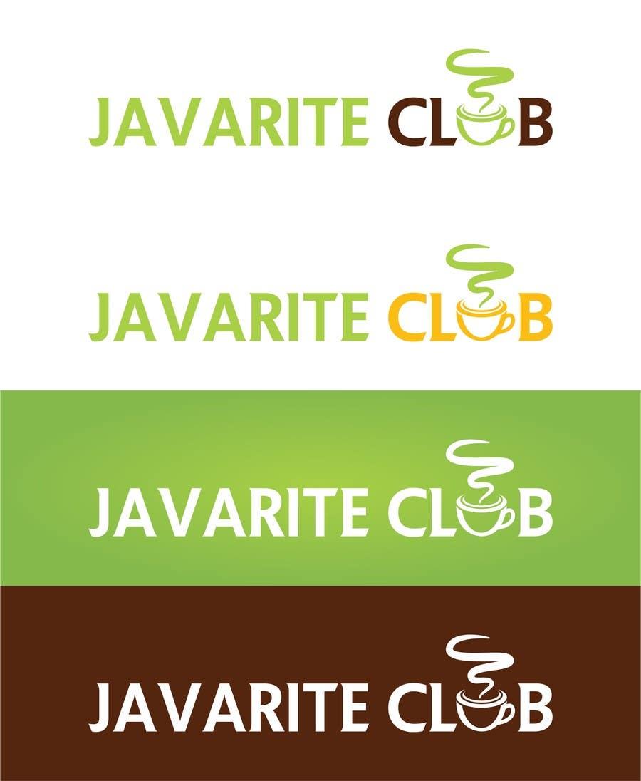 Penyertaan Peraduan #134 untuk Design a Logo for the Javarite Club