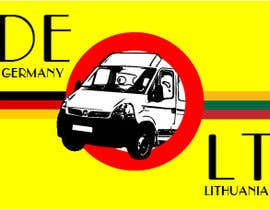 #11 untuk Design very catchy image for classified ad - Image about Travel to Germany with minibus oleh brcarlospedroza