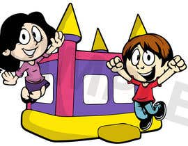#1 untuk Design 2 - 3 Cartoon Mascots for a Bouncy House Rental Company oleh joelkornek