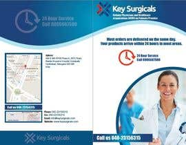 vivekdaneapen tarafından Design a bi-fold marketing brochure template for Hospital Supplies provider için no 8