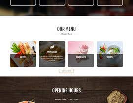 #25 untuk Design a Website Mockup for a  Chinese restaurant oleh dhanvarshini