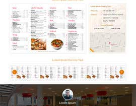 #12 untuk Design a Website Mockup for a  Chinese restaurant oleh ravinderss2014