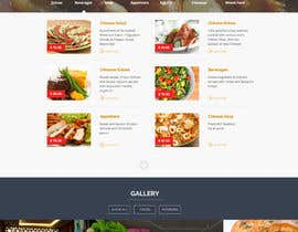 #18 untuk Design a Website Mockup for a  Chinese restaurant oleh webmastersud