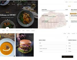 #17 untuk Design a Website Mockup for a  Chinese restaurant oleh infofixs