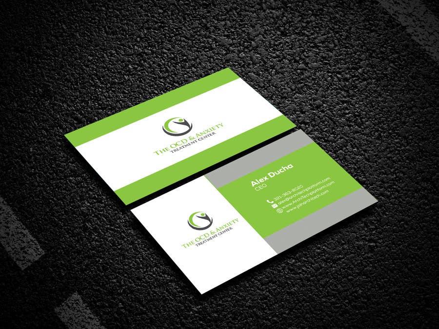 Penyertaan Peraduan #87 untuk Business Card Design