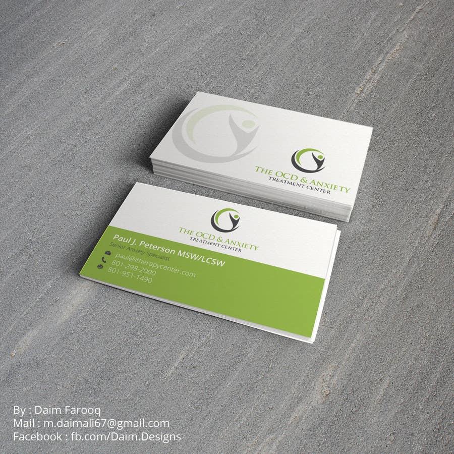 Penyertaan Peraduan #82 untuk Business Card Design