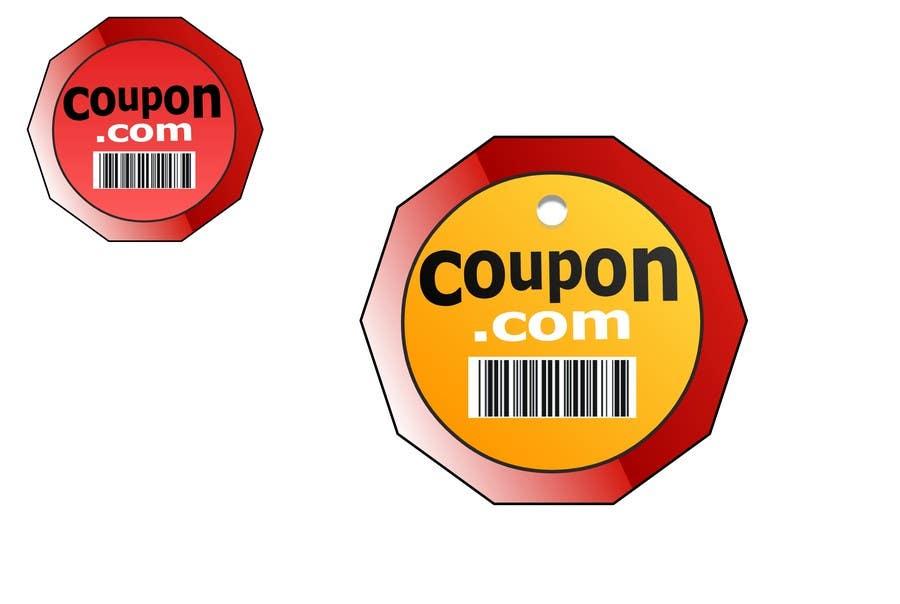 Penyertaan Peraduan #153 untuk Logo Design for For a Coupons website
