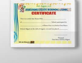 tcyash tarafından Design some Stationery for  Certificate of an event by School için no 1