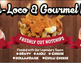 #44 untuk Design a Banner for Dough-loco & the gourmet potato 1 oleh jonapottger