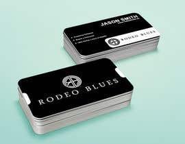 #11 untuk Design Business Cards for Rodeo Blues oleh petersamajay