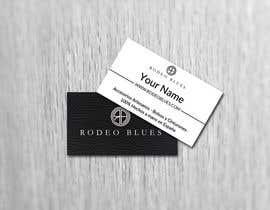 #16 untuk Design Business Cards for Rodeo Blues oleh gaurishankarjha