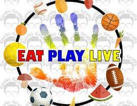 GeekyGrafix tarafından Design a Logo for EAT.PLAY.LIVE için no 12