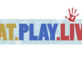#5 untuk Design a Logo for EAT.PLAY.LIVE oleh willardivino