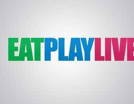 vw8256273vw tarafından Design a Logo for EAT.PLAY.LIVE için no 1